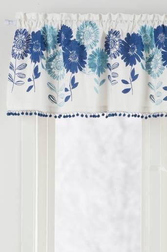 FLOWER PATCH-kappakangas/m Sininen