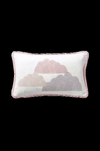 Ekologinen CLOUDS-tyynynpäällinen 50x30 cm Roosa