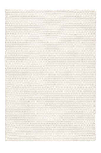 IMPERIA-puuvillamatto 160x230 cm Luonnonvalkoinen