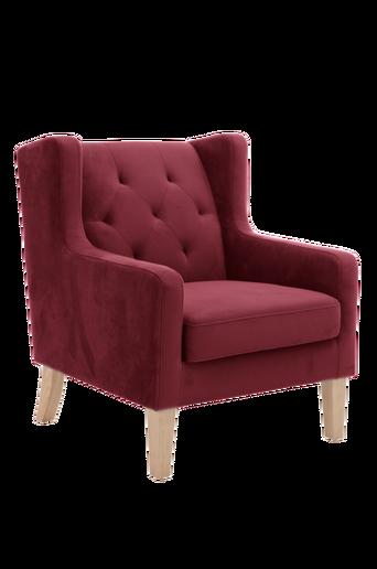 DALLAS-nojatuoli Viininpunainen