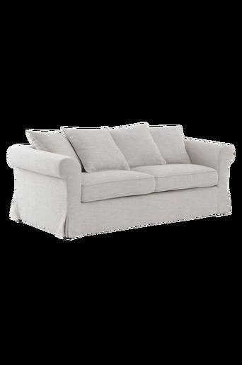 TRENTON-sohva, 3:n istuttava Harmaameleerattu