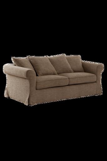 TRENTON-sohva, 3:n istuttava Myyränruskea