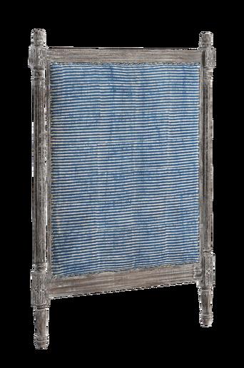 BRUNFLO-sängynpääty 90 cm Siniharmaa