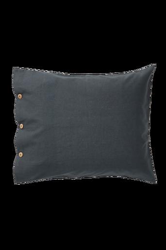 LINNEA-tyynyliina 60x50 cm Tummanharmaa