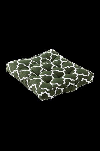 MARIELLE-istuintyyny 40x40 cm Vihreä/valkoinen