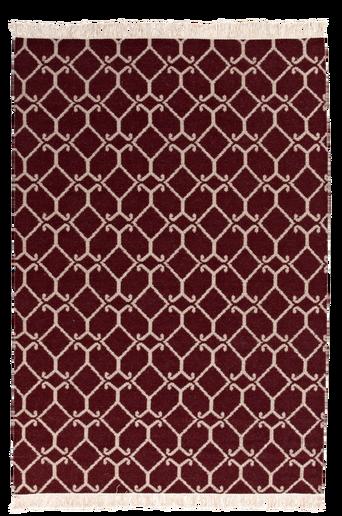 RAVENNA-villamatto 200x300 cm Punainen