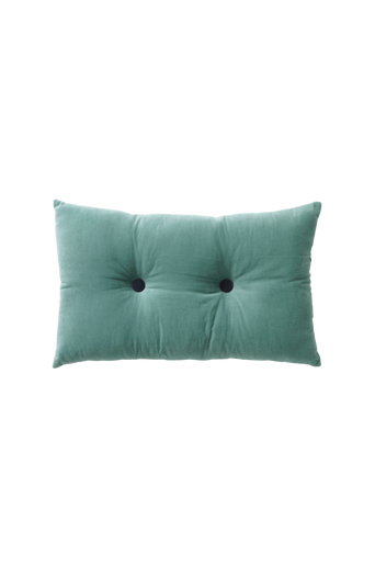 SAMMIE-tyyny 50x30 cm Turkoosi/tummansininen