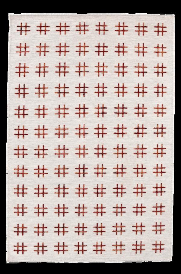 Bilde av CATANIA ullteppe 250x350 cm - Vinrød