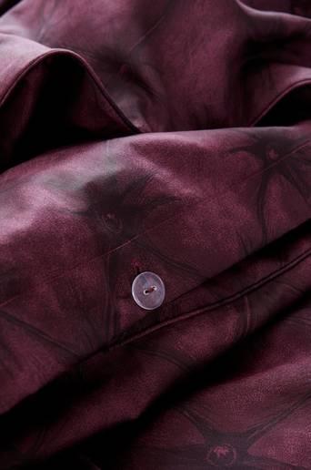 CHESTERFIELD-pussilakanasetti, 2 osaa Viininpunainen