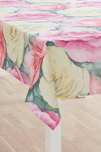 CLEOPATRA-pöytäliina Vaalea roosa