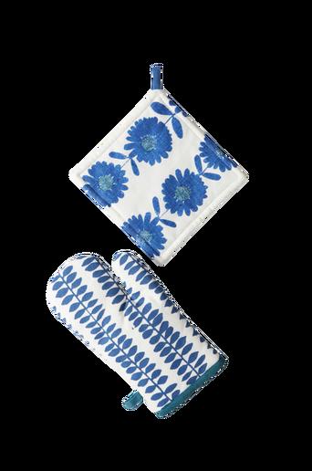 FLOWER PATCH -patalappusetti, 2 osaa Sininen