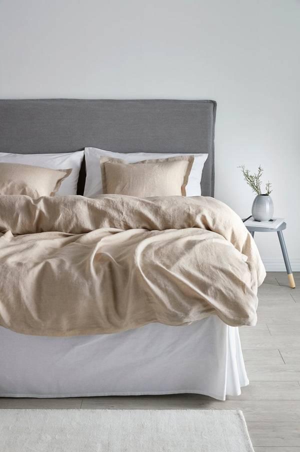 Bilde av AMANDA sengesett 3 deler - Beige