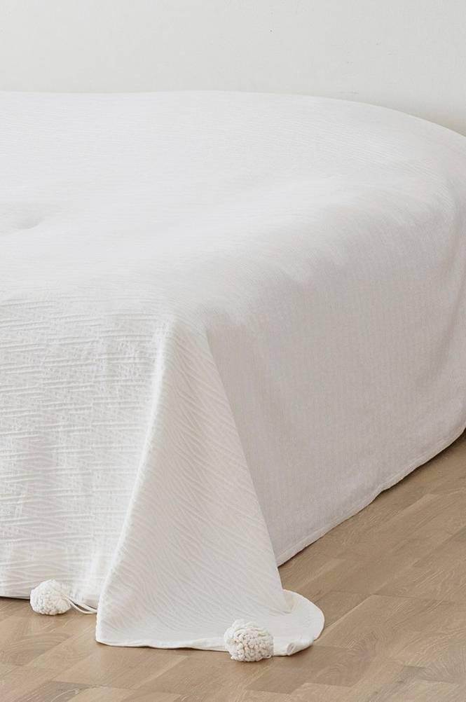 MERIDA överkast – dubbelsäng 260×260 cm