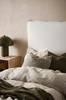 PALMA sänggavel 90 cm Naturvit thumbnail