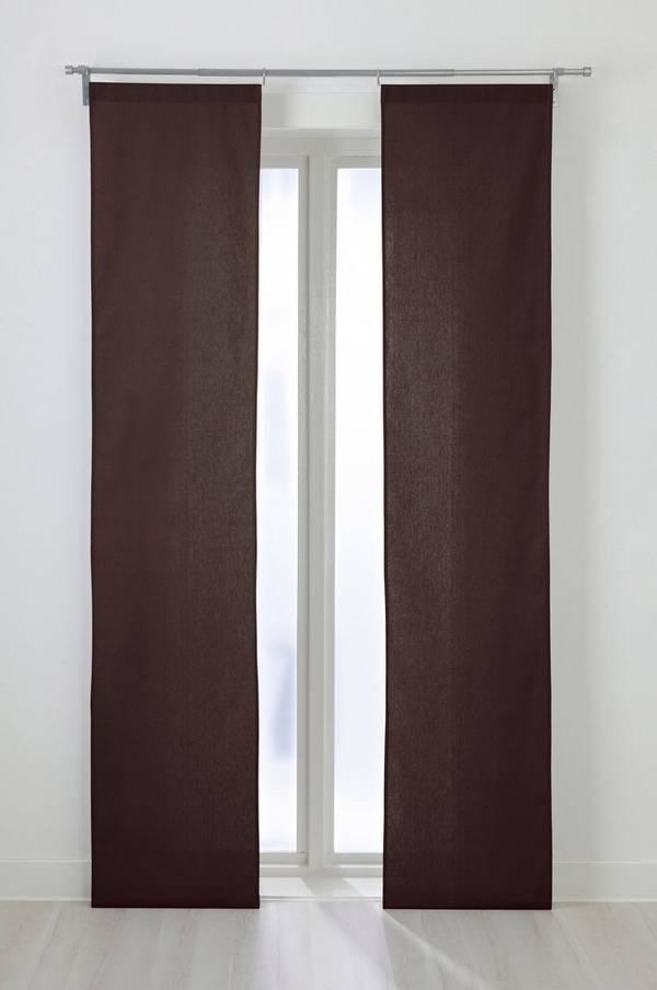 Bilde av COLOUR panellengde 2-pk - økologisk - Mørk brun