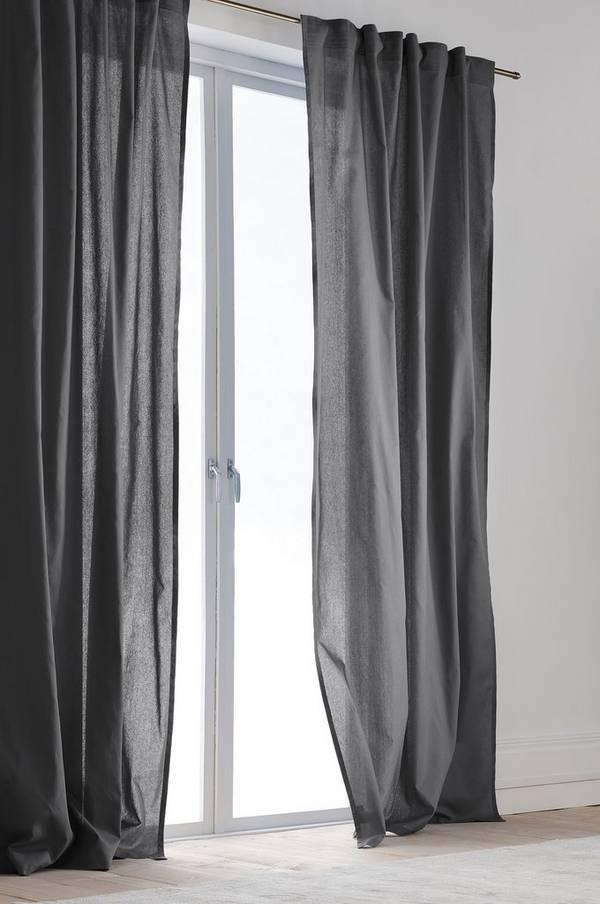 Bilde av COLOUR gardin med multifunksjonsbånd 2-pk - økologisk - 30151