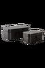 SMILLA förvaringsbox 2-pack Svart thumbnail