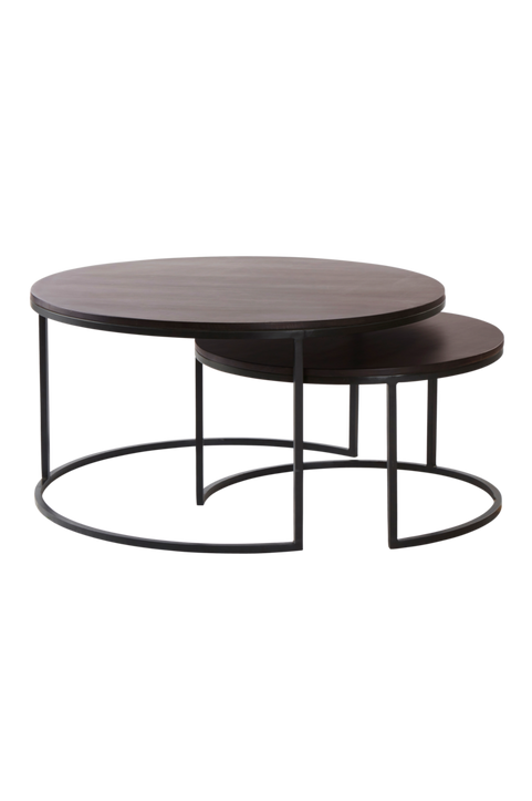 OREGON soffbord 2 delar ø 63 cm/ø 86 cm