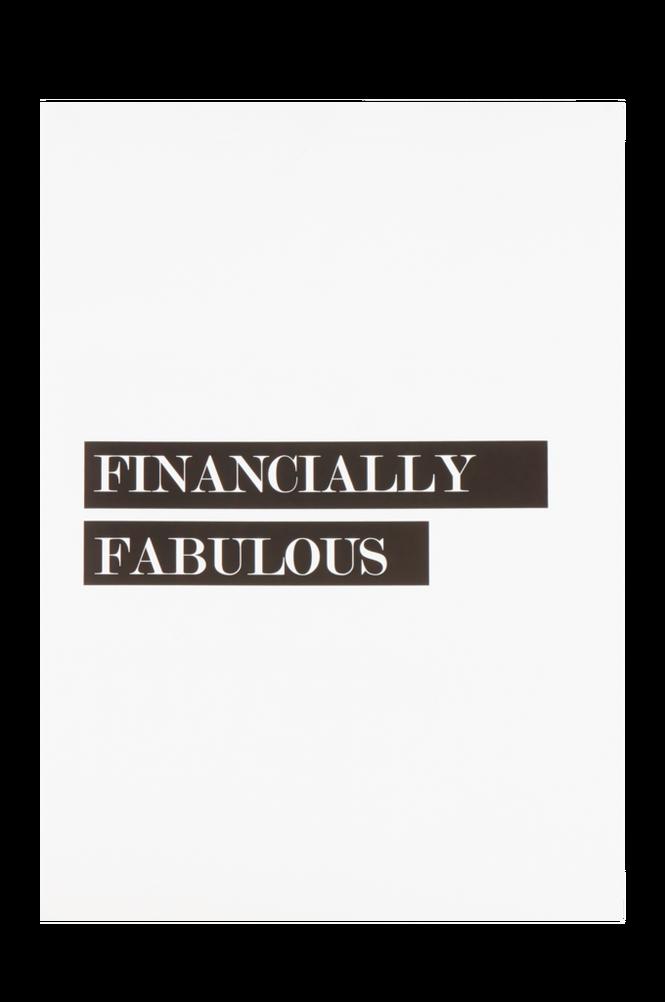 FABULOUS poster 50×70 cm