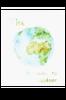 Bilde av WORLD poster 30x40 cm