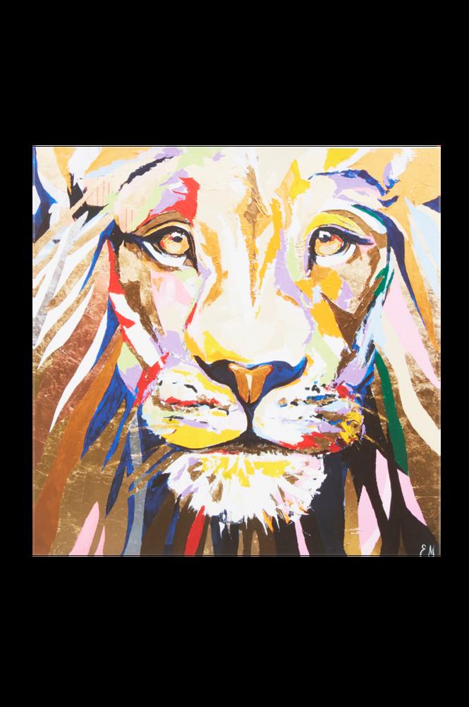 KINGEN poster 60×60 cm