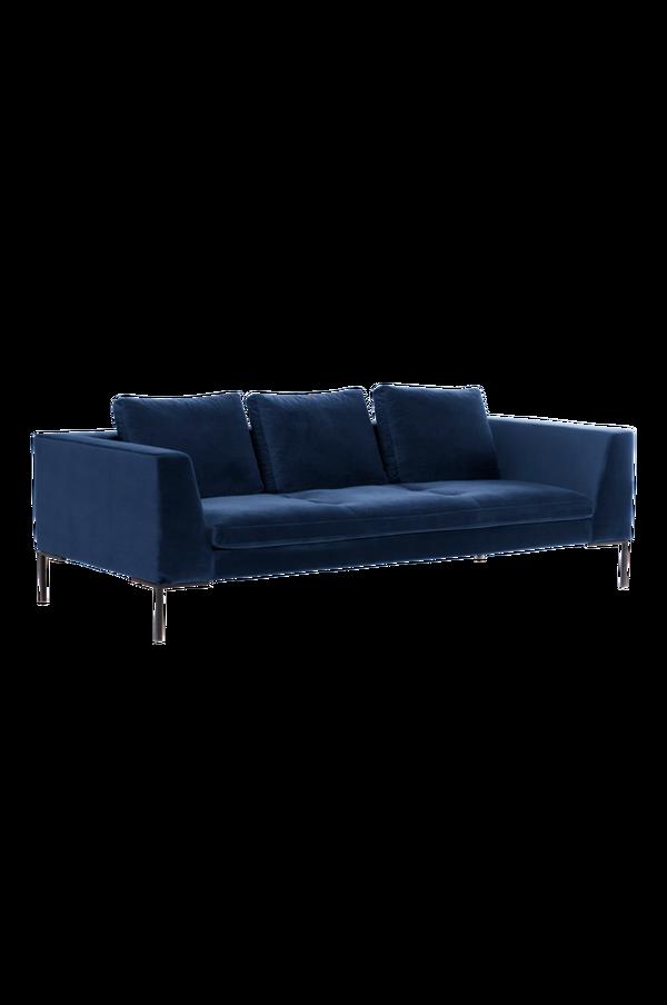 Bilde av ALBA sofa 3-seter - Mørk blå