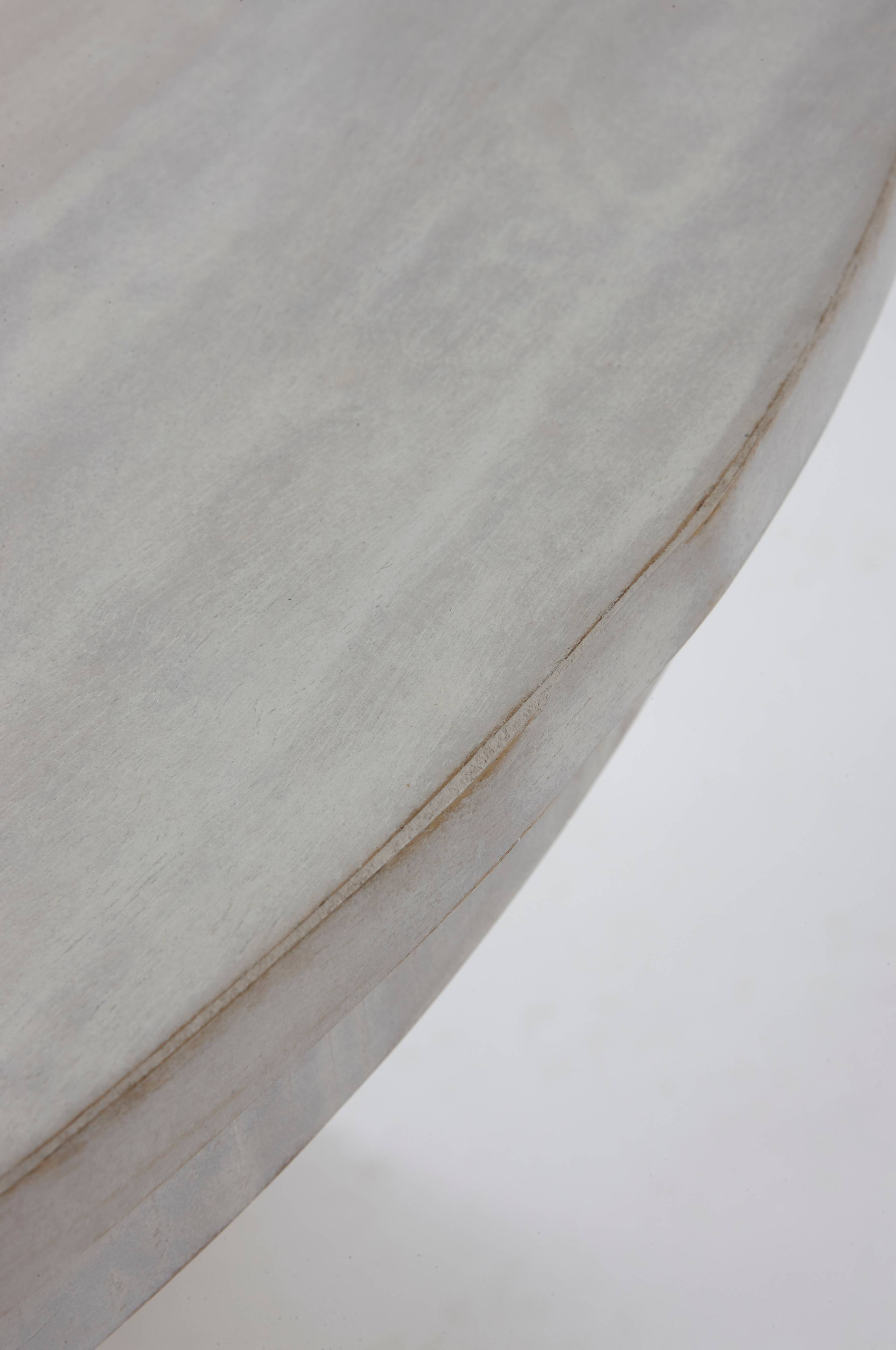 MADURAI spisebord Ø 140 cm Hvit Møbler Jotex