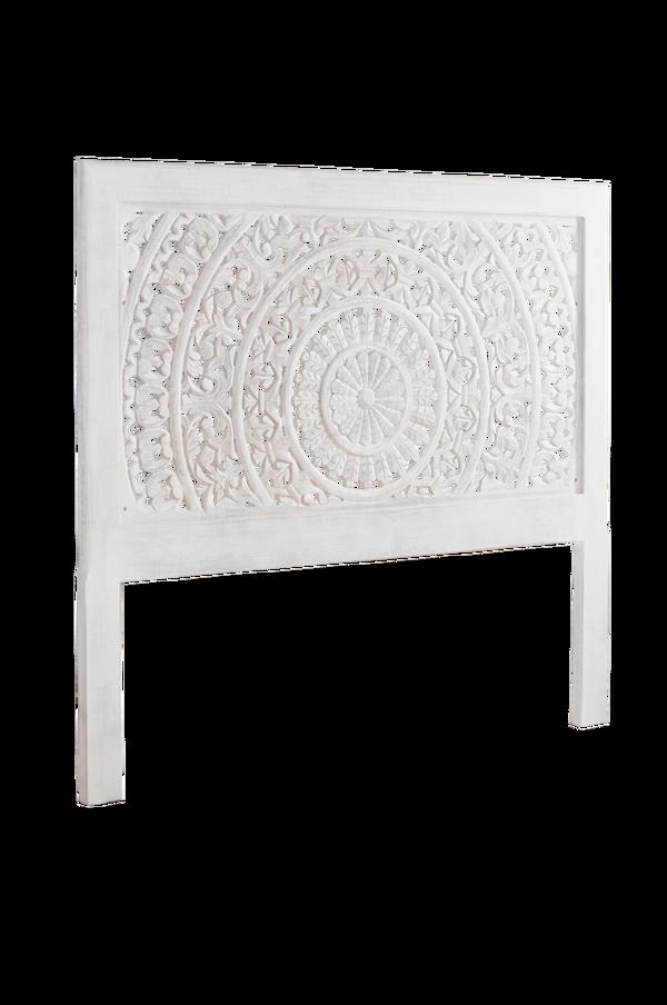 Bilde av AIZA sengegavl 160 cm - Hvitsåpet