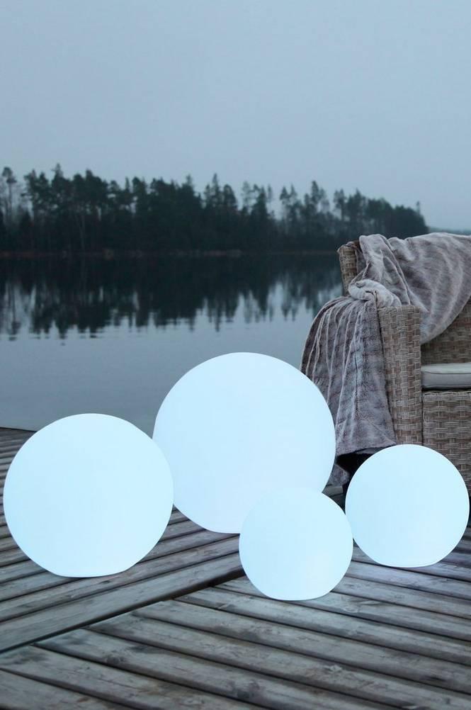 TWILIGHT RUND belysning – extra stor