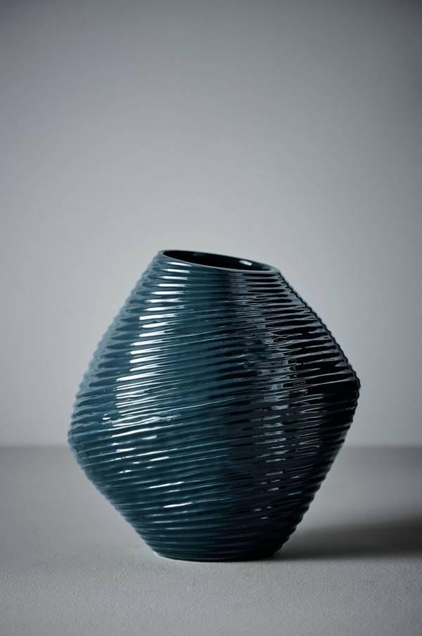 Bilde av ALEXIS vase - Mørk grønn