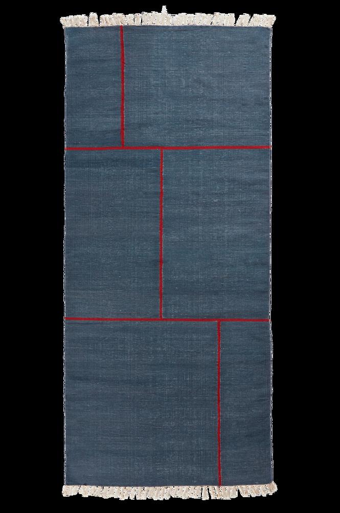 RODEO bomullsmatta 100×230 cm