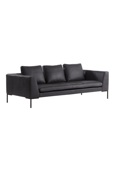 ALBA soffa 3-sits - läder