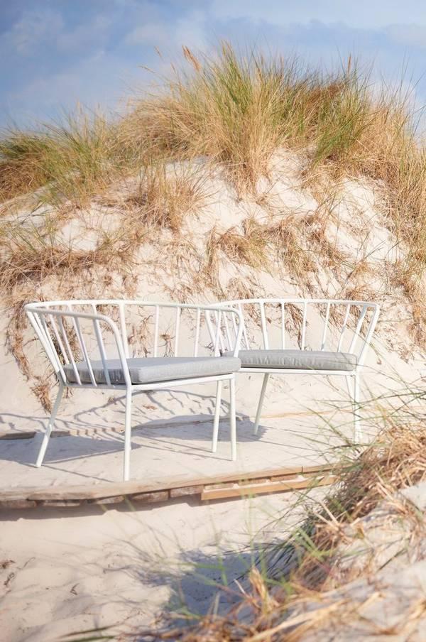 Bilde av ANTIBES loungestol 2-pack - Hvit