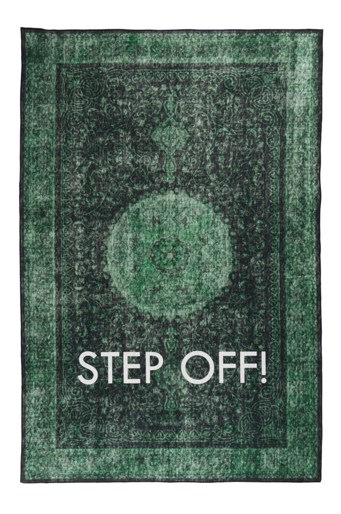 STEP OFF bomullsmatta