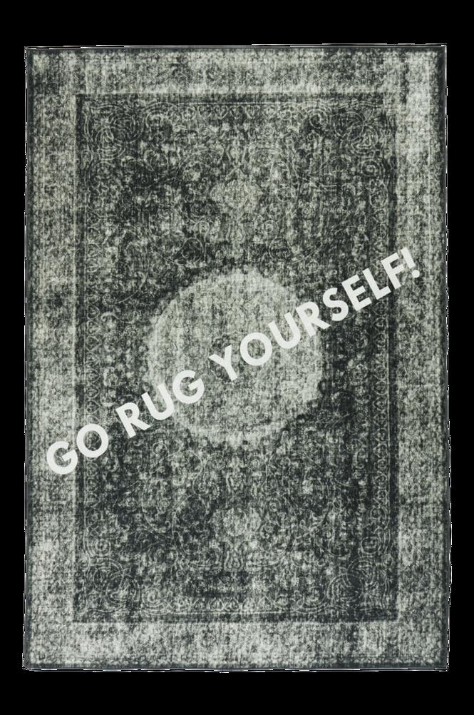 GO RUG YOURSELF bomullsmatta