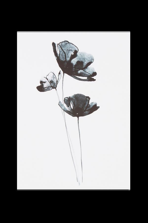Bilde av BLUE FLOWER poster 30x40 cm - 30151