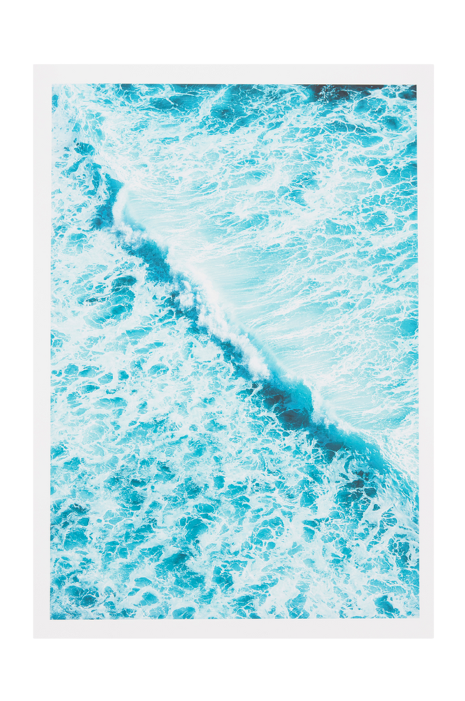 BLUE WAVE poster 50×70 cm
