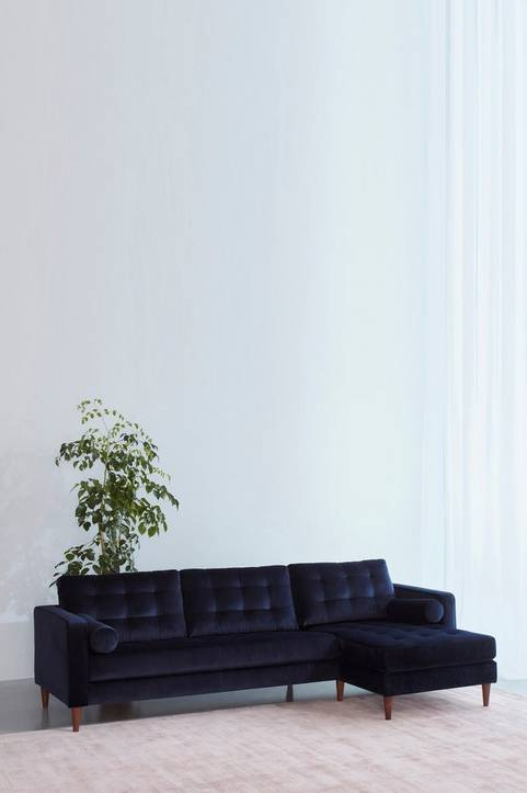 LOULE soffa 3-sits - divan