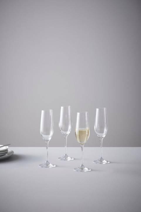 BLANCHE champagneglas 4-pack Klar