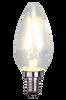 Bilde av LED lyspære E14 C35