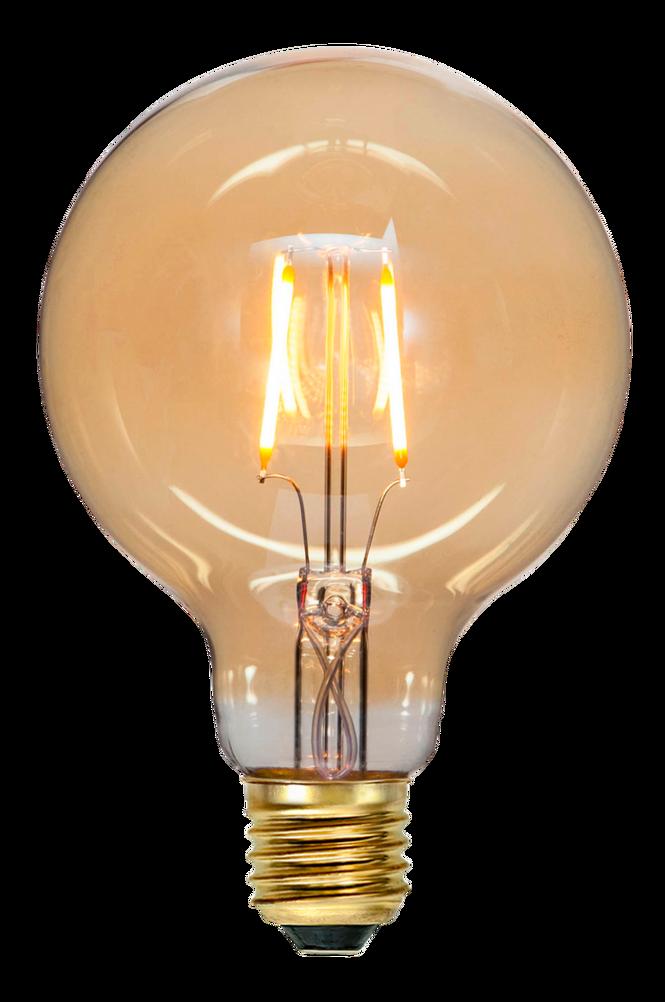 LED ljuskälla E27 G95 soft glow