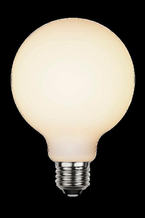 LED ljuskälla E27 G125 opaque double coating