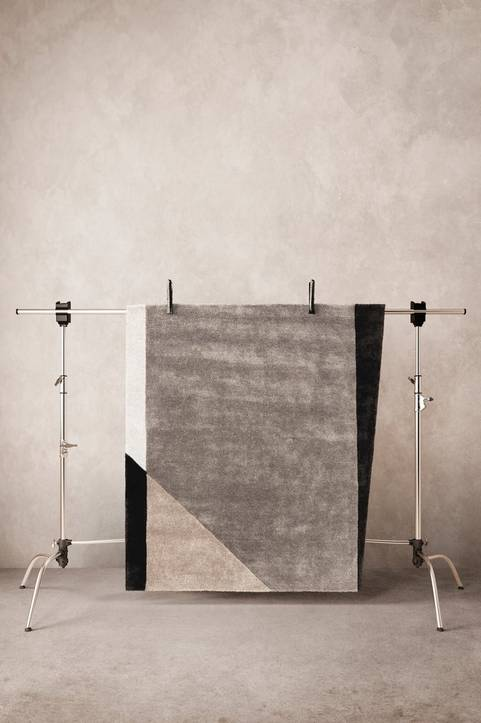 BENSON viskosmatta 150x150 cm