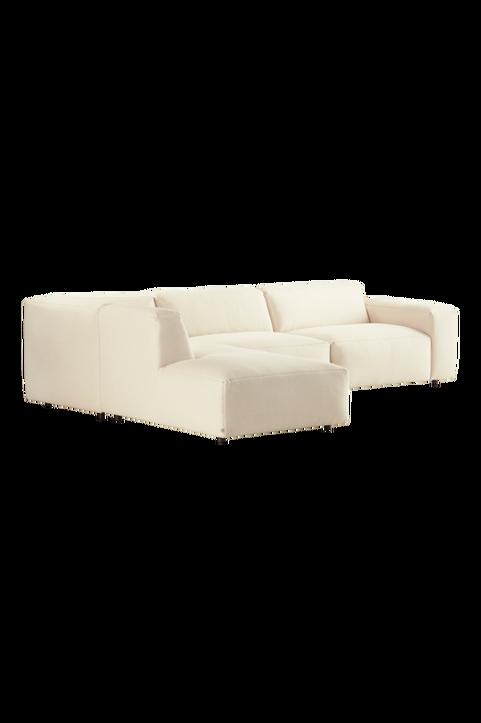 SEOUL soffa 3-sits - divan vänster