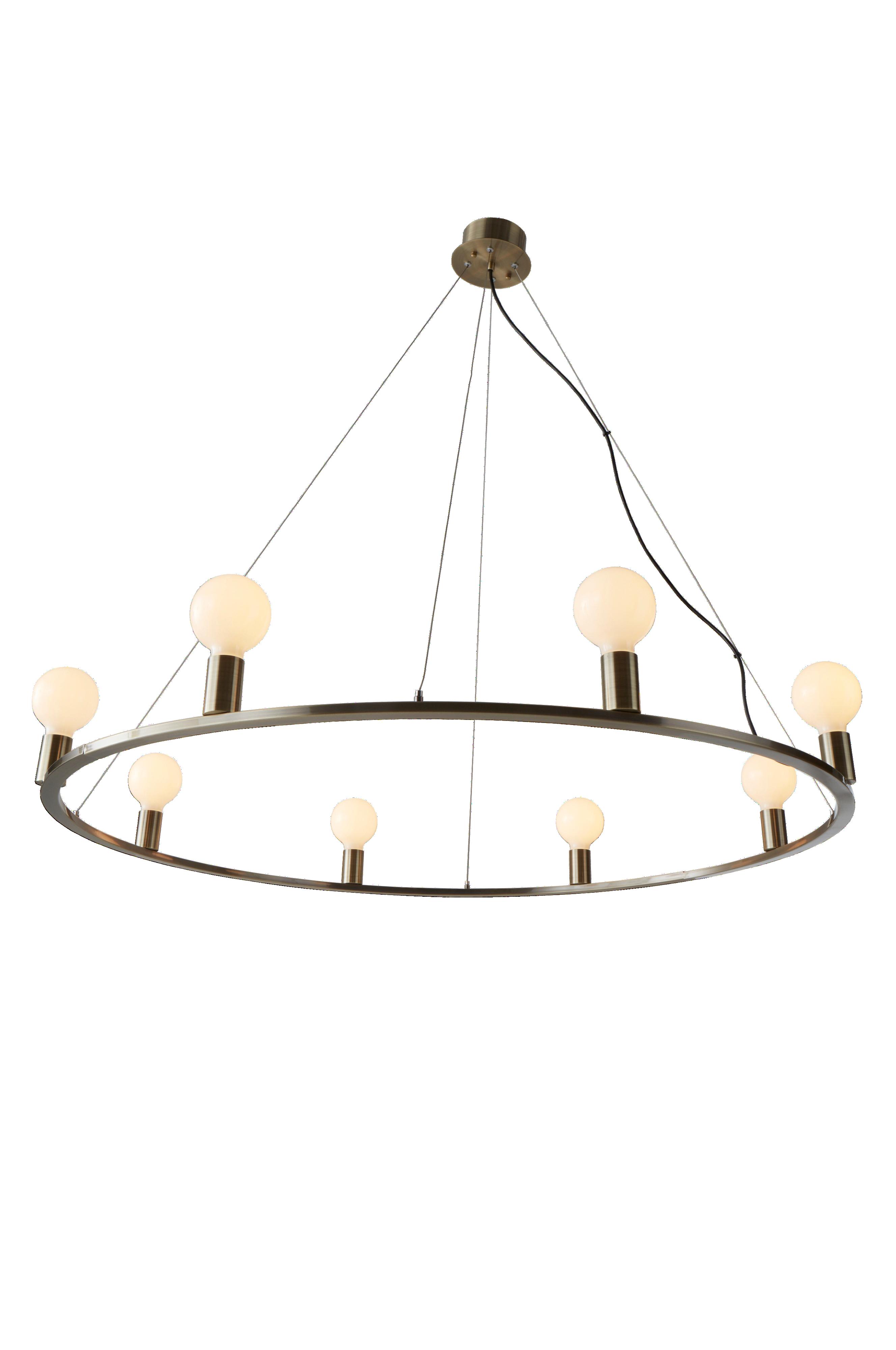 Jotex ROYAL taklampe Ø 120 cm Svart Belysning Homeroom.no