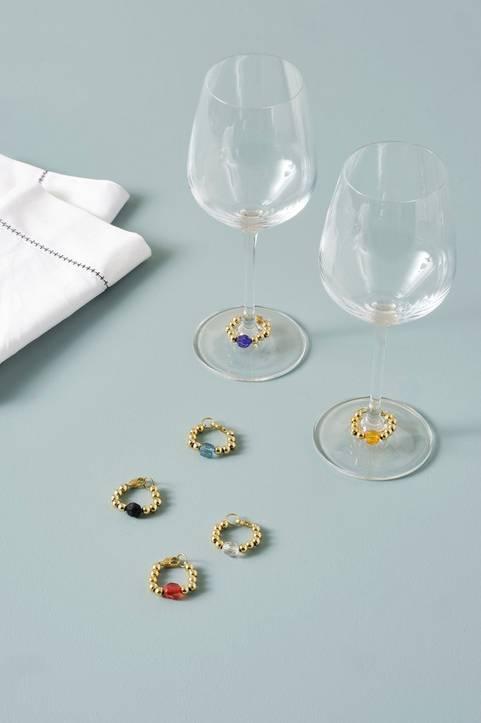 PERLA dekoration för vinglas 6-pack