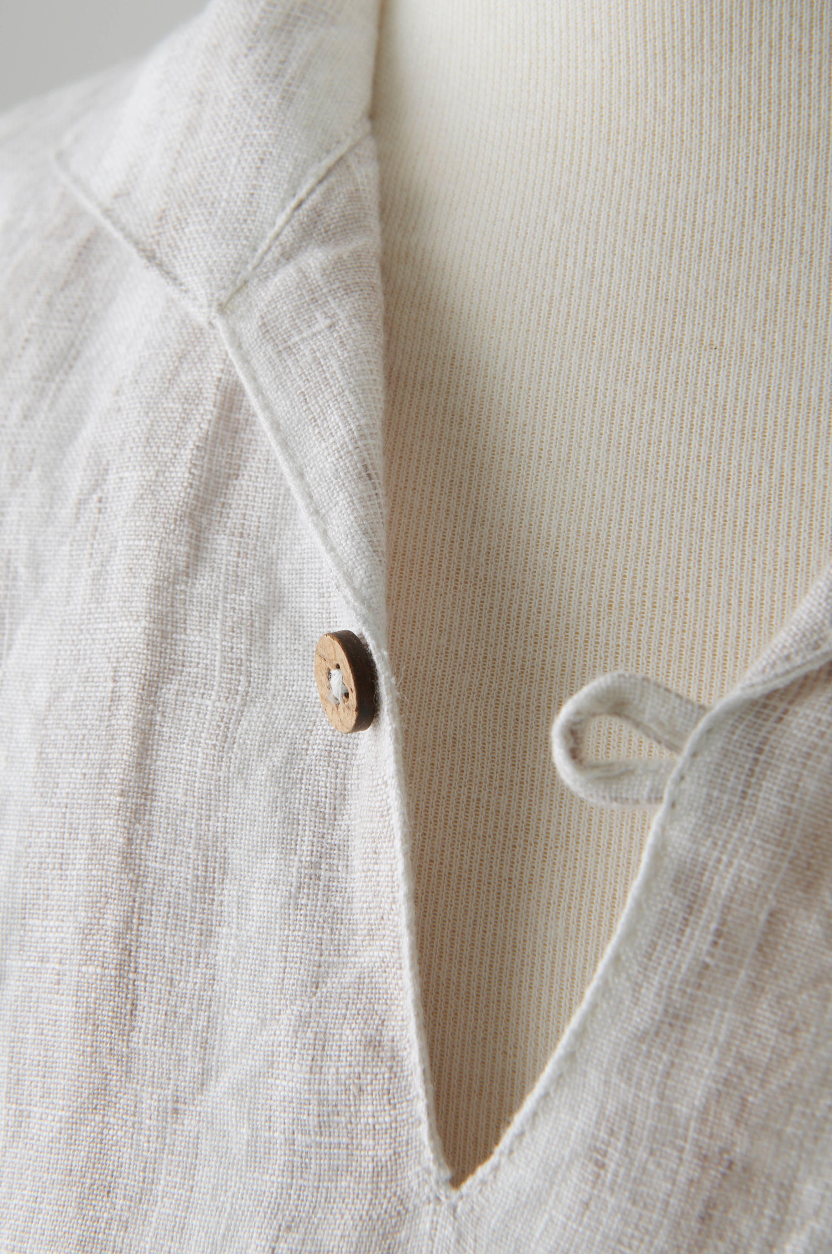 DELINA linskjorte herre Hvit Baderomstekstiler Jotex