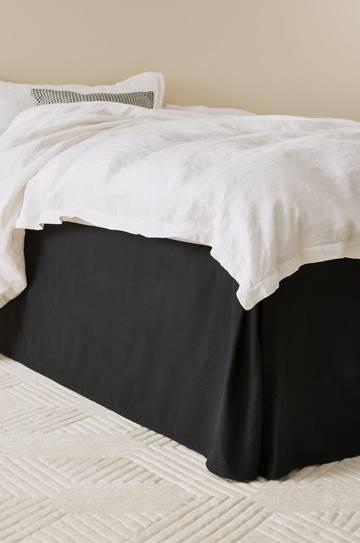 Homeroom Svart Sängkappa