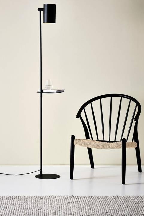 KIRA golvlampa med bord