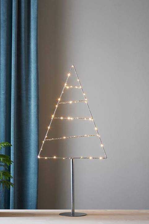 TRIANGLE dekorationsträd LED - mellan